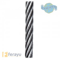 CABLE SIRGA GALV R/20 MT 6X7+1 CABLE SIRGA GALV R/20 MT 6X7+1