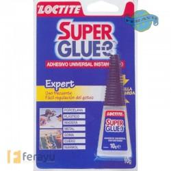 Super Glue-3 Líquido Precisión Max 10 grs (Loctite)