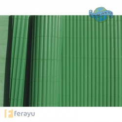 CAÑIZO PVC 1/2 CAÑA 1,5X5MTS.VERDE.