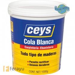 COLA BLANCA MADERA 1KG.CEYS 501704