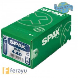 TORNILLO SPAX C/P.BICRO 500 PZS 5X50
