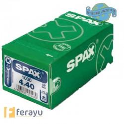 TORNILLO SPAX C/P.BICRO 500 PZS 4X60