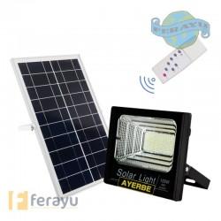 FOCO SOLAR C/MANDO 120 LEDS 100 W