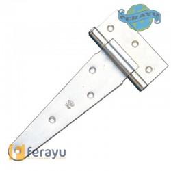 Bisagra en T de acero para puerta lisa 550-130 (Amig)