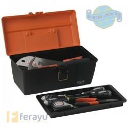 CAJA HERRAMIENTAS 420X230X230 PLASTICO.