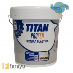 P.PLASTICA MATE 12KG INTERIOR TITAN