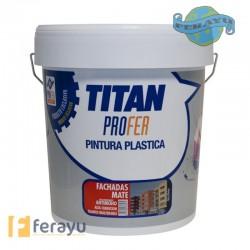 P.PLASTICA MATE 12KG FACHADAS FERR TITAN