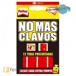 NO MAS CLAVOS CINTA TIRAS PRECORTADAS.