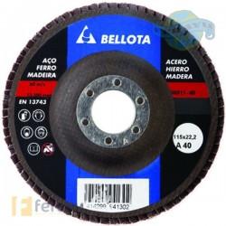 Disco de láminas desbaste metal Grano A. 5051140 (Bellota)