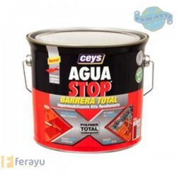 AGUA STOP BARRERA TOTAL GRIS 4KG.