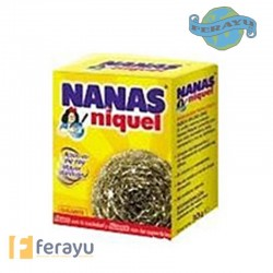 ESTROPAJO NIQUEL NORMAL 21 G NANAS.