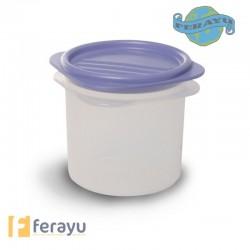TAPER HERMETICO PLASTICO REDONDO 0,3L