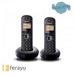 TELEFONO INALAMBRICO DUO N KX TG1612SPR
