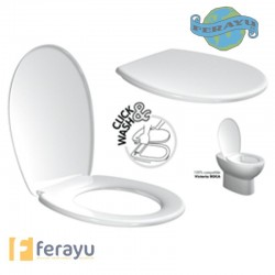 TAPA WC DESMONTABLE RTT BLANCO 44005.01