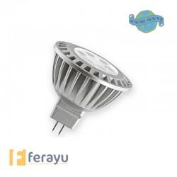 LAMPARA LED MR-16 LC 2700K 5,6W OSRAM.