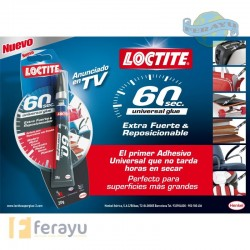 Super Glue-3 60 segundos 20 grs (Loctite)
