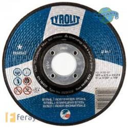 DISCO C H METAL/INOX 125X2,5MM