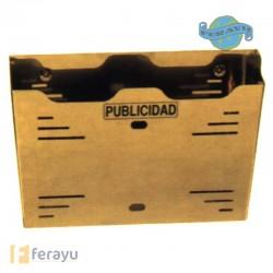 BUZON PUBLICIDAD NEGRO 36 CM