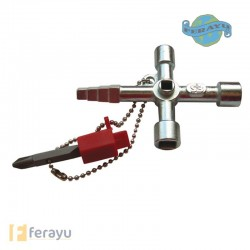 LLAVE CRUZ CABINA CONSTRUCCION PT0043