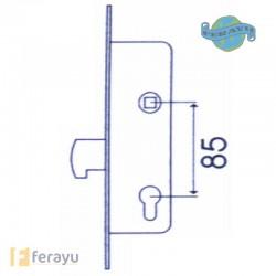 CERRADURA MET INOX 25 MM 2241/25/3AI