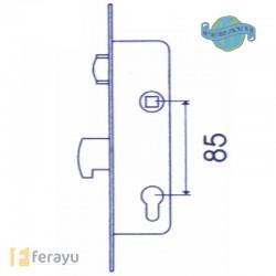 CERRADURA INOX RODILL 30MM 2246/30/3AI