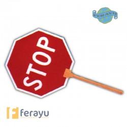 SEÑAL OBRA STOP/PASO M/ALUMIN 0577