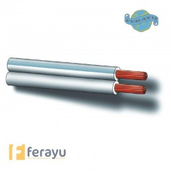 CABLE PARALE BCO SONID 100MT 2X0,75 MM
