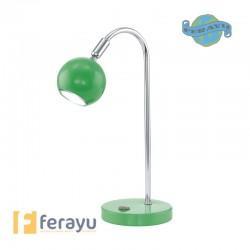 FLEXO SOBREMESA LED VERDE GU10 3 W
