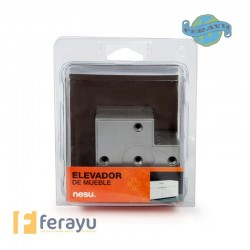 PATA ELEVAD MUEBLE PACK/4 15MM 80X80MM