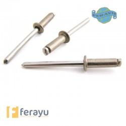 REMACHE INOX C/A 500 UDS 4X16 MM