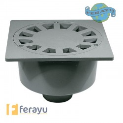 SUMIDERO PVC VERT M 75 S-246 200X200 MM