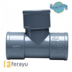 DERIVACION PVC H H 87º DS-06 40 MM