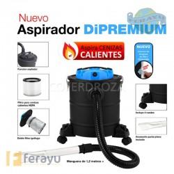 ASPIRADOR CENIZA CALIENTE 20LT 1200 W