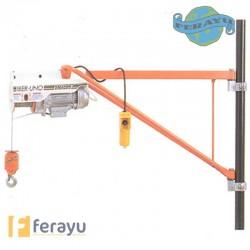 ELEVADOR IBER 1 C/POLEA 15MT 100-200KG