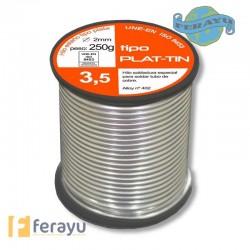 ESTAÑO-PLATA FONTA 3,5% 2MM 250 G