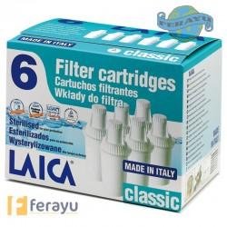 CARTUCHO FILTRO CLASSIC PACK 6 F6A3