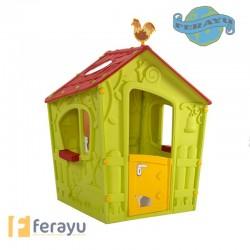CASETA INFANTIL MAGIC PLAY 110X110X14