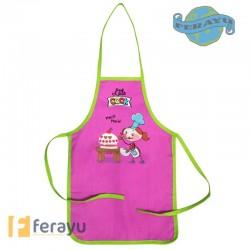DELANTAL INFANTIL SURTIDO 30X45 CM