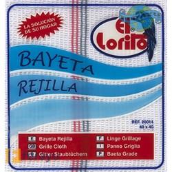 BAYETA REJILLA C.SURTIDOS B/I 40X45 CM