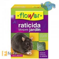 RATICIDA BLOQUES JARDIN 200 GRS