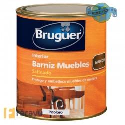 BARNIZ MUEBLES SAT INCOLORO 4 L