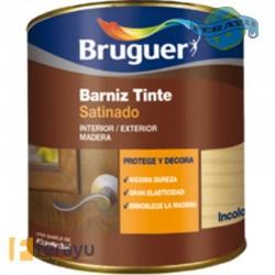 BARNIZ TINTE SAT CAOBA 250 ML
