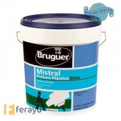 PINTURA PLASTICA MISTRAL 4 L