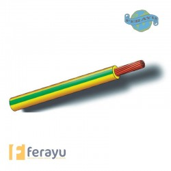 CABLE LINEA FLEXIB NEGRO 100MT 4 MM