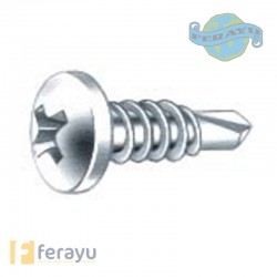 TORNILLO BROCA DIN7504N ZN 3,5X22 MM