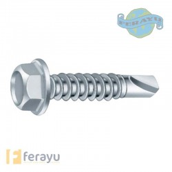 TORNILLO BROCA DIN7504K ZN 6,3X19 MM