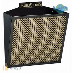 CESTA PUBLICIDAD BLANCA 305X320X19