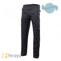 PANTALON STRETCH MULTIB GRIS T54
