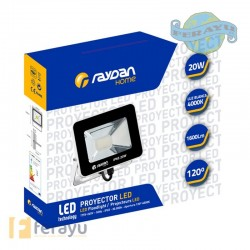 FOCO LED IP65 1600 LUMEN 4000K 20 W