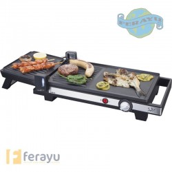 PLANCHA GRILL DUO EXTENSIBLE 2200 W